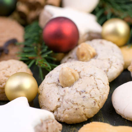 biscotti di natale: Natale cookie Archivio Fotografico