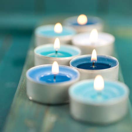 Wellness, candles Stock Photo - 15864349