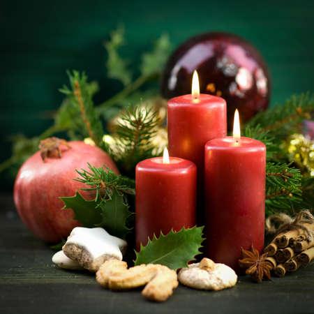 velas de navidad: Tiempo de Navidad, velas