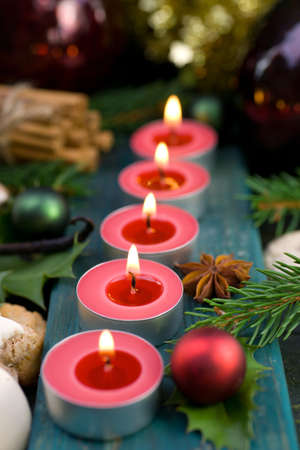 Christmas time, candles Stock Photo - 16013959