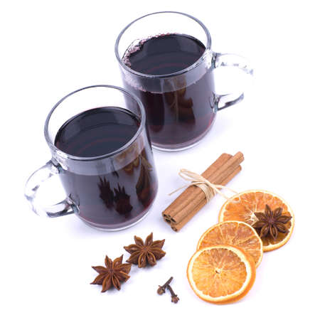 spiced: Hot spiced wine
