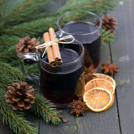 perfumed candle: Hot spiced wine