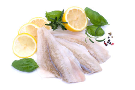 Plaice fillet Stock Photo
