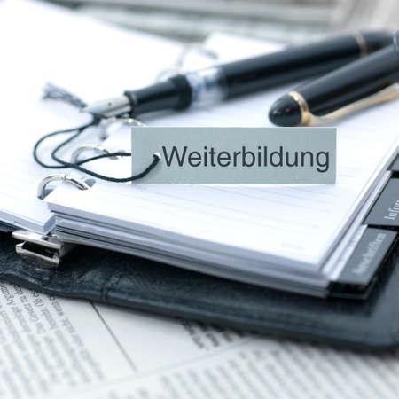 further: Weiterbildung - continuing education