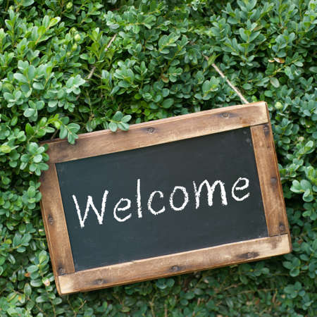 neighbors: Chalkboard, Welcome