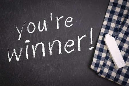 re: Chalkboard  you re winner