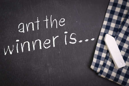 hedging: Chalkboard  and the winner is