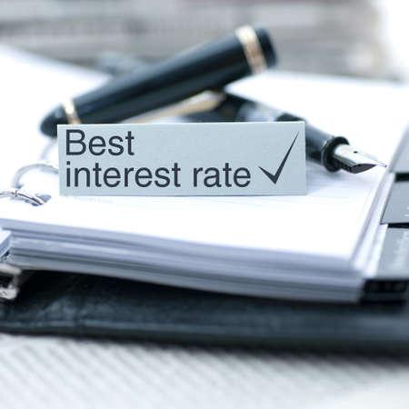 Best interest rate