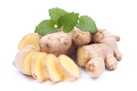 Fresh ginger Stock Photo - 18082998