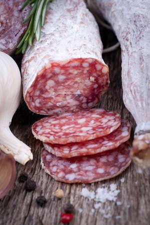 air dried salami: Air dried salami