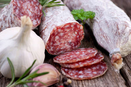 Air dried salami photo