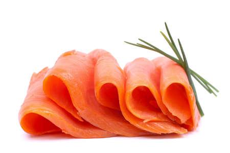 salmon ahumado: El salm?n fresco