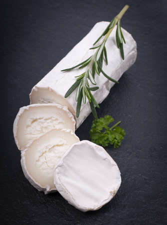 goat cheese: Fresh goat cheese