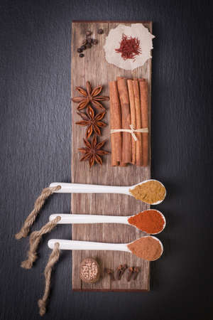 Several spices photo