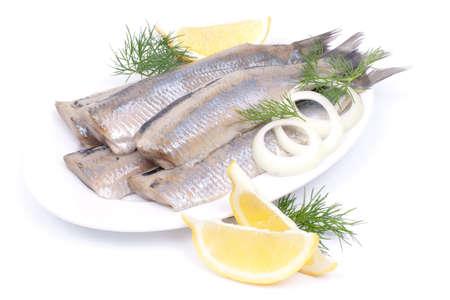 Fresh white herring