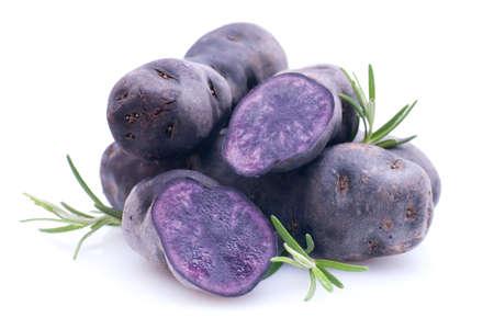 Violette potato Zdjęcie Seryjne - 18906377