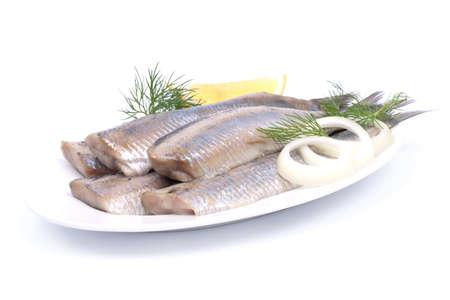 Fresh young herring