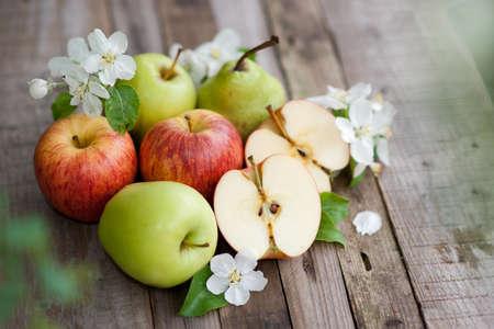 Harvest time, apples photo