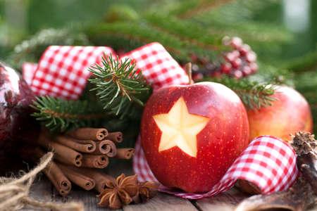 apple christmas: Christmas apple