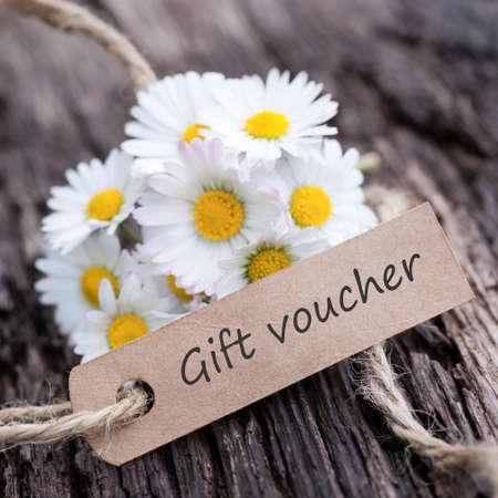 Gift voucher Zdjęcie Seryjne