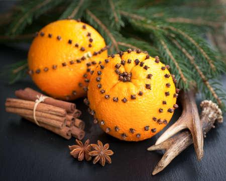 Spiked oranges Zdjęcie Seryjne