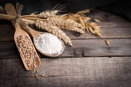 Flour and grain Zdjęcie Seryjne