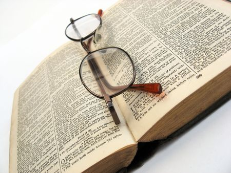 book and glasses Stock Photo - 1849881