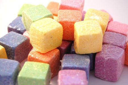 colourful cubes photo