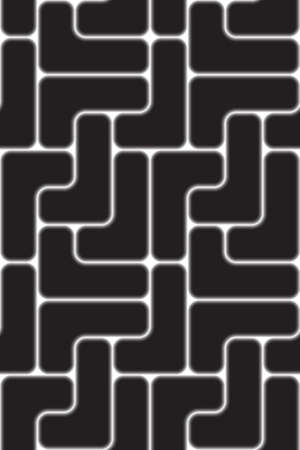the black seamless texture (connect) Vector