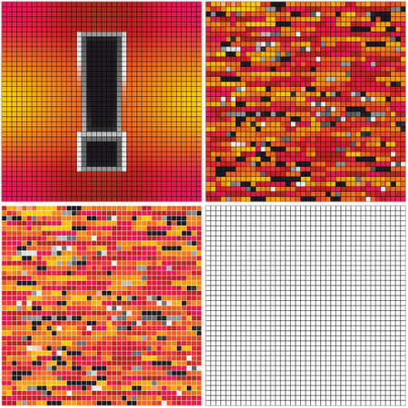 Exclamation mark (mixed mosaic with empty cells)