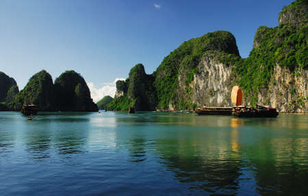 the silence of the world: Reflection of Halong Bay
