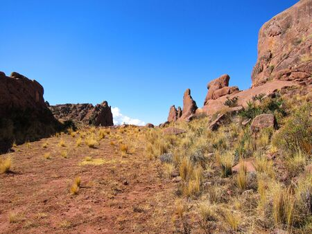 Hayu Marca, the mysterious stargate and unique rock formations near Puno, Peru