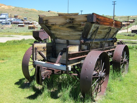 Antique horse cart at Bodie Ghost Town
