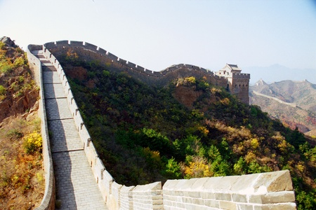Great Wall of China at Jinshanling, near Beijing photo