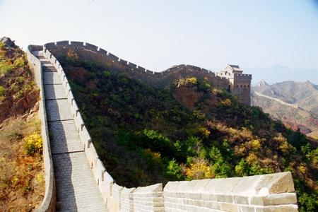Great Wall of China at Jinshanling, near Beijing