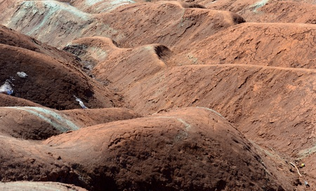 badlands: Cheltenham Badlands