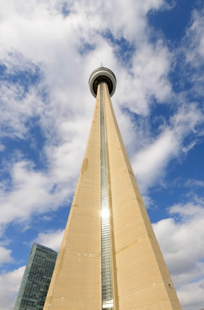 CN Tower, the skyline icon of Downtown Toronto, Canada Stock Photo - 19256826