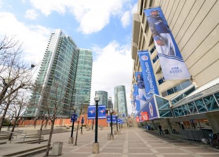 bluejay: Rogers Center, home stadium of Toronto Blue Jays