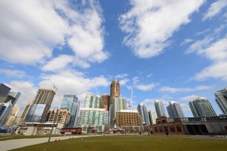 urban development in Toronto, Canada