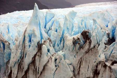 Perito Moreno Glacier, the world famous glacier in the Los Glaciares National Park  photo