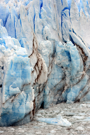 los glaciares: Perito Moreno Glacier, the world famous glacier in the Los Glaciares National Park