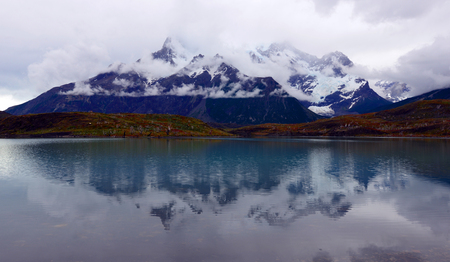 Torres del Paine National Park, near Puerto Natales, Patagonia, Chile photo