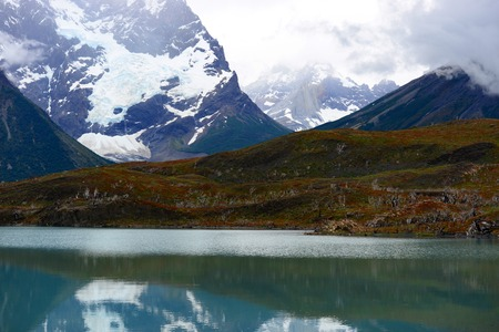 magallanes: Torres del Paine National Park, near Puerto Natales, Patagonia, Chile Stock Photo