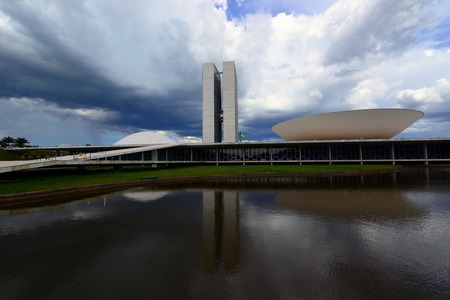 national congress: The Modernist National Congress building in Brasilia, Brazil