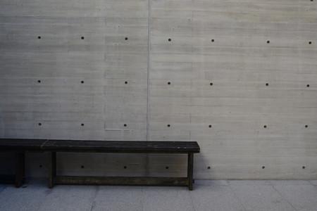 Minimalist concrete wall in Japan 版權商用圖片