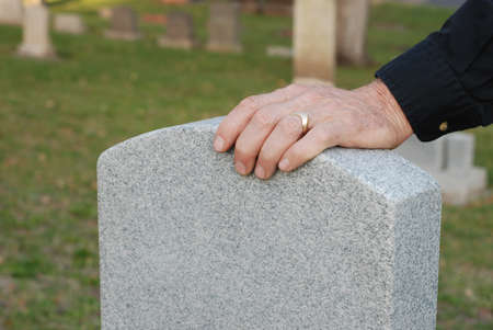 gravesite: Close up of a man