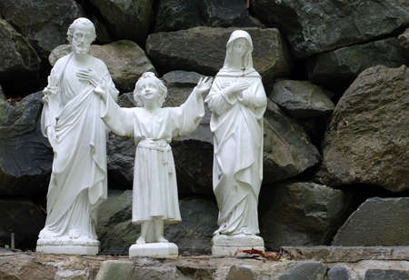 Religious Statues  Jesus, Mary and Joseph photo