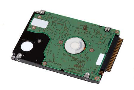 disco duro: Primer del disco duro del ordenador aislado en blanco