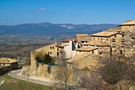 Medieval town Sos del Rey Catolico (Aragon, Spain)