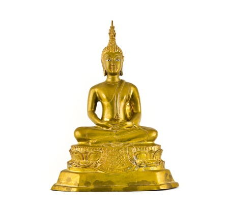 Buddha with Isolated